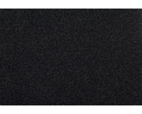 Teppichboden Velours Dusty schwarz 400 cm breit (Meterware)