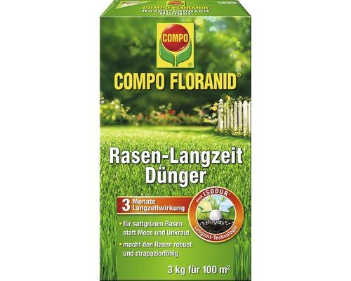 Engrais longue durée pour gazon Compo Floranid 3 kg