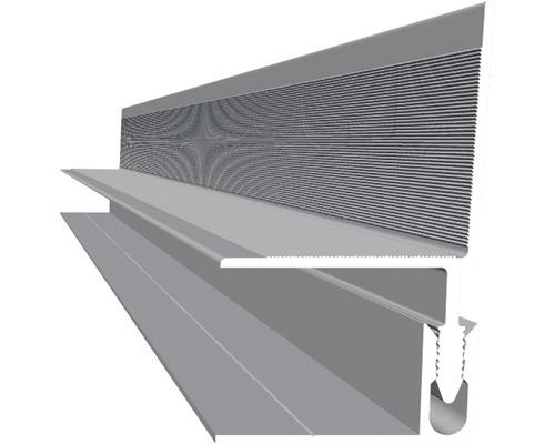 Finition murale aluminium 2500x40x40 mm