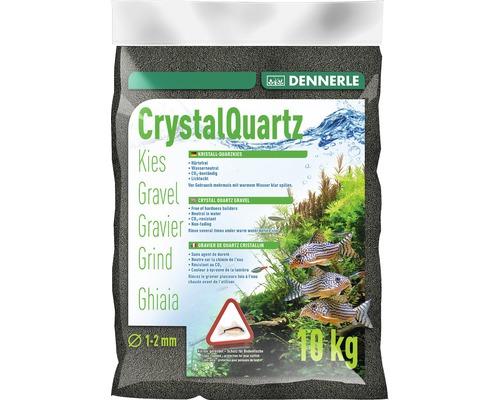 Gravier de quartz cristallin Dennerle 10kg, diamant noir
