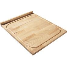 Planche à découper hêtre 46x54x2cm-thumb-1