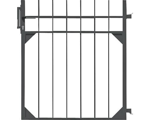 Portail simple Guardian 96,5x100 cm, noir