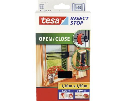 Moustiquaire pour fenêtre à ouvrir tesa Insect Stop Comfort anthracite 130x150 cm