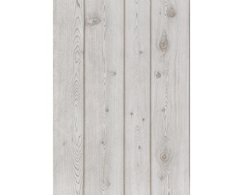 Papier peint décor bois blanc