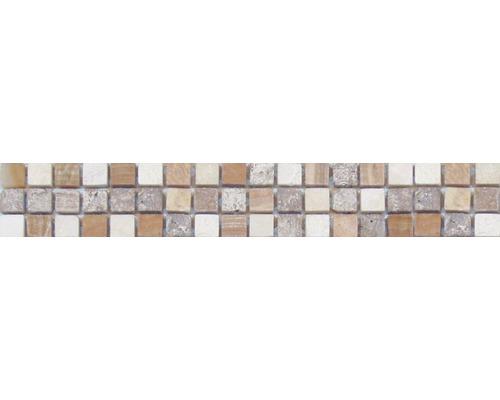 Bordure en pierre naturelle MC2, beige, 30,5 x 4,8 cm