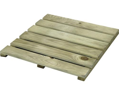 Dalles en bois
