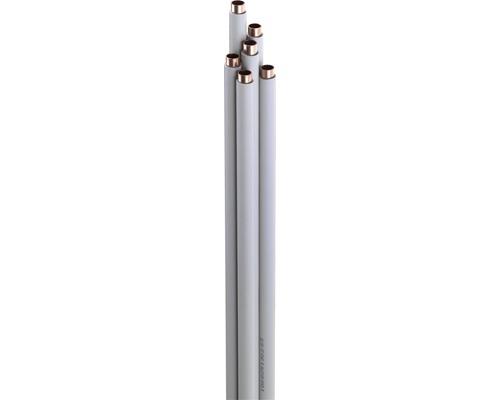 Tube de cuivre gainé comme tige 12x1 mm Longueur 2,5 m