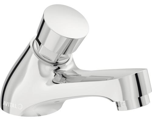 Robinet de lave-mains AVITAL Milde 160008 chrome sans bonde de vidage