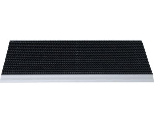 Paillasson en aluminium Outline noir 50x80 cm