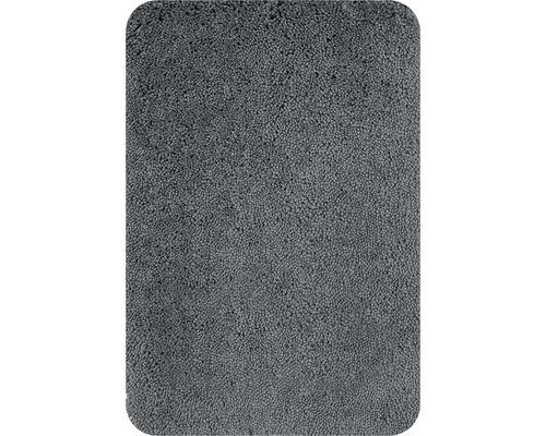 Badteppich Spirella Highland Grau 55x65 cm