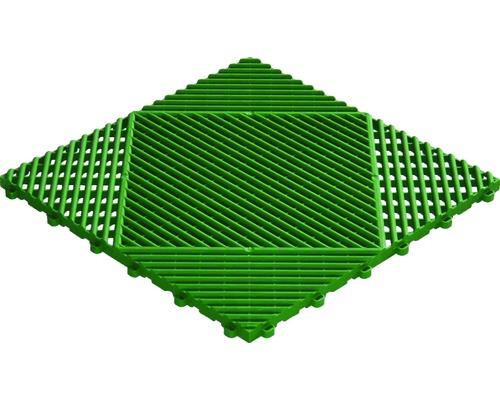 Dalle à clipser en plastique florco classic, 40 x 40 cm, vert