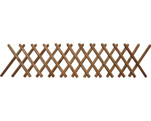 Clôture croisée 250x59 cm, traitée en autoclave par imprégnation
