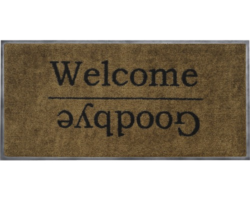 Tapis Brosse Welcome Goodbye 38 X 78 Cm Hornbach Luxembourg