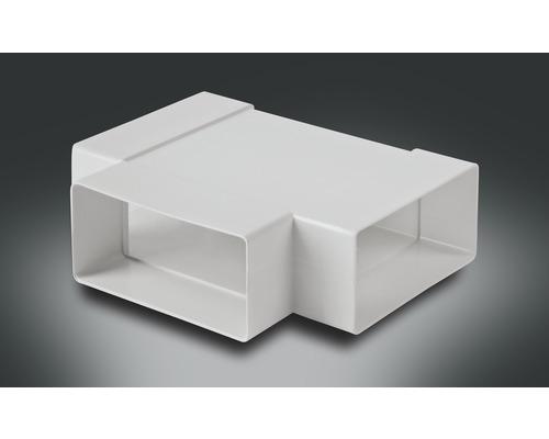 Pièce en T pour tube plat Rotheigner blanc 111x54