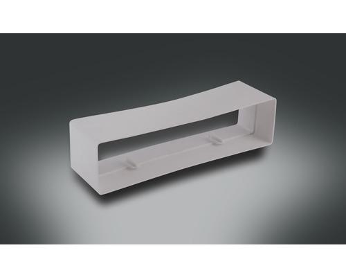 Connecteur de tube plat Rotheigner blanc 220x54 mm