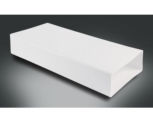 Tube plat Rotheigner blanc 220x90 mm longueur 0,50 m