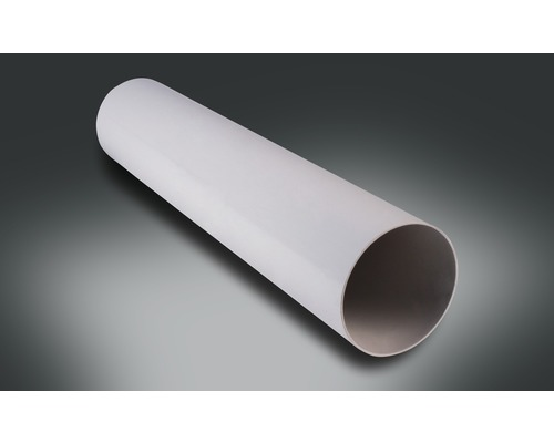 Tuyau rond de Rotheigner blanc de LN de 100 mm et de 500 mm de longueur