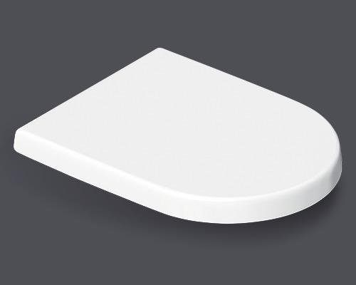 Abattant WC pour Jungborn Dalea et Elena blanc amovible avec système d''abaissement automatique