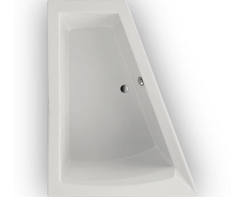 Hornbach Badewannen badewanne delta ii 175x135 cm modell b linke weiß hornbach