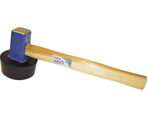Plattenlegerhammer Haromac 1500 g rund