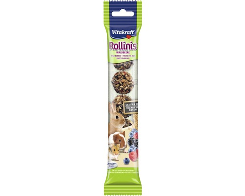 Snack pour rongeurs Vitakraft Rollinis® pour lapin nain, 7 morceaux