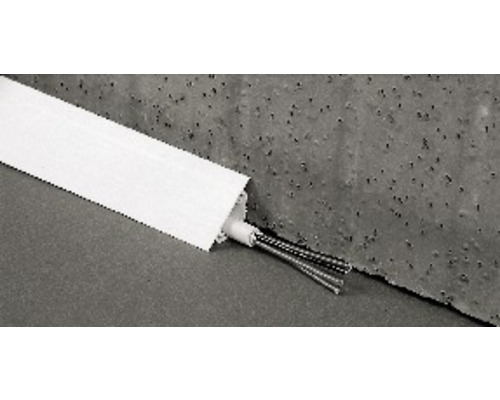 Canal d''angle rigide l 40 mm x H 30 mm x L 2 m, blanc pur