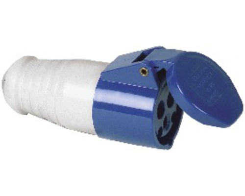 Connecteur de caravane PCE 16A IP44 3 pôles bleu/gris