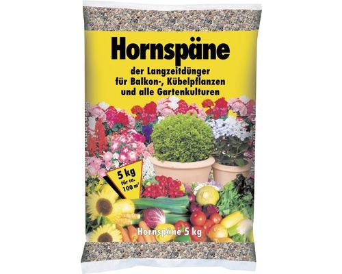 Hornspäne organischer Langzeitdünger Universaldünger 5 kg für ca. 100 m²