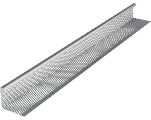 PRECIT Aluminium Kiesfangleiste 1000 x 82 x 100 mm