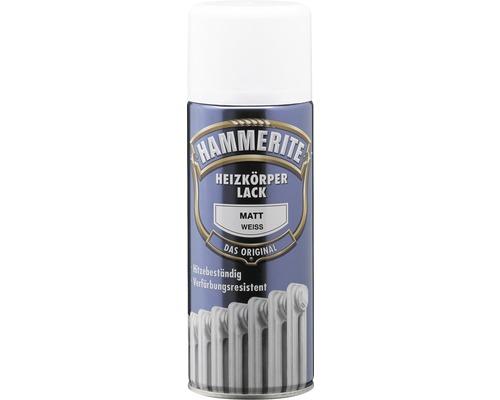 Laque pour radiateurs HAMMERITE satinée blanche 400 ml
