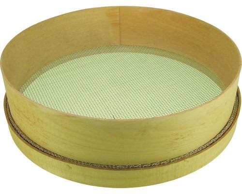 Tamis avec cadre en bois 6x6 mm