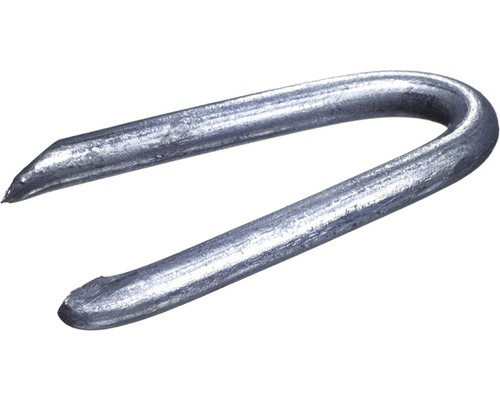 Schlaufen (Krampen) 2,5 x 25 mm galv.verzinkt, 1 KG