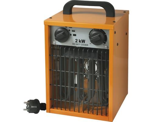 Radiateur soufflant électrique 2000 watts