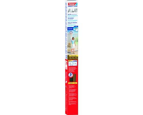 Porte moustiquaire tesa Insect Stop Comfort cadre en aluminium blanc 100x220 cm