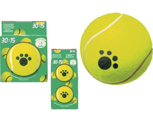 Balle de tennis set de 2 6 cm, jaune