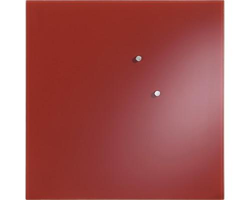 Tableau Mural En Verre Rouge 50x50 Cm Hornbach Luxembourg