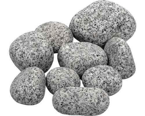 Gravier de granite gris 40-100 mm, 25 kg
