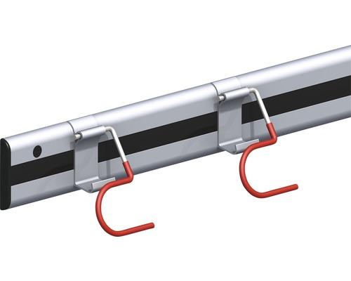Alfer Gerätehalter Typ 11, 500 mm, Aluminium blank