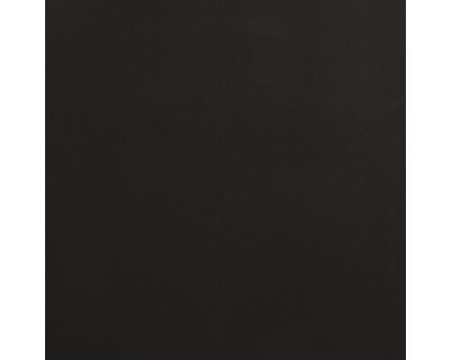 Carrelage de sol uni, noir, poli, 30x30 cm