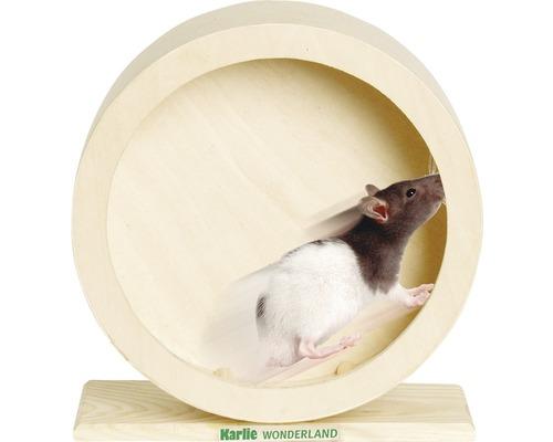 Roue en bois Karlie Bogie Wheel 20 cm, naturel