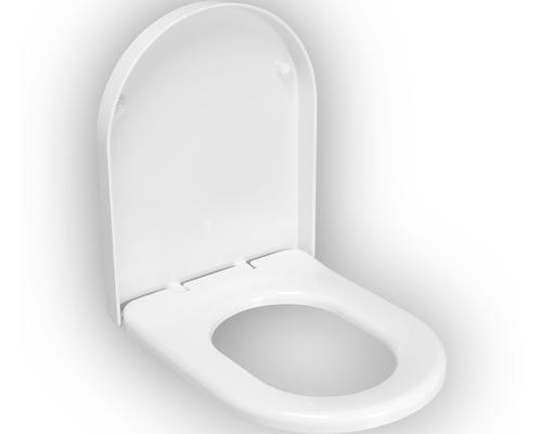 Abattant WC Vintage blanc avec frein de chute - HORNBACH Luxembourg