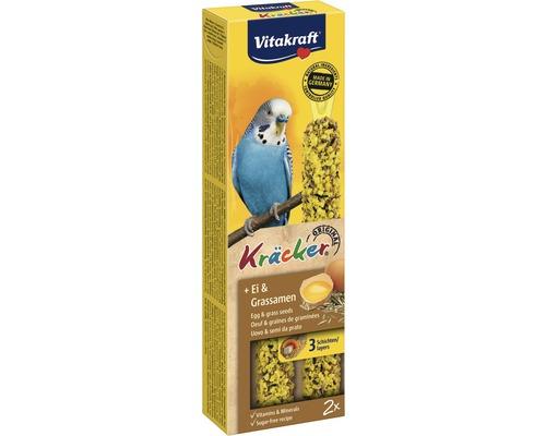 Snack pour oiseaux Vitakraft Kräcker®, oeuf pour perruche