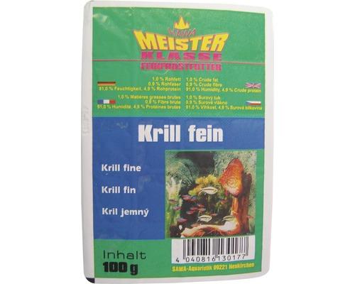 Nourriture surgelée Krill fin 100g