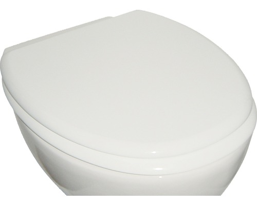 Abattant WC ADOB Milano blanc avec abattant