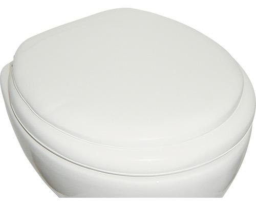 Abattant WC ADOB Lugano blanc, rembourré