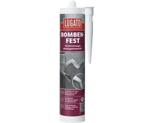 Klebstoff/Dichtstoff Lugato Bombenfest Grau 480 g
