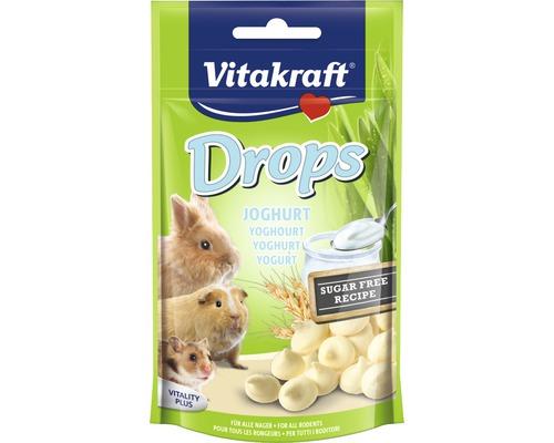 Snack pour rongeurs Vitakraft pastilles au yaourt pour lapin nain, 75 g
