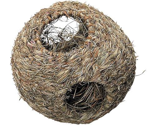 Boule nid en foin Karlie petit modèle 10cm
