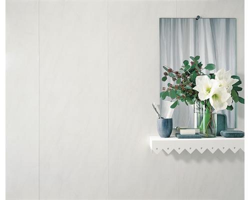 Lambris en PVC effet marbre gris 8x375x2600mm
