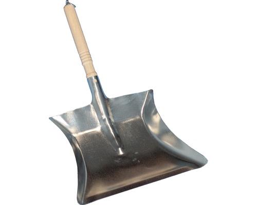 Pelle à poussière, acier galvanisé